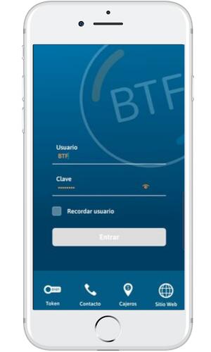 BTF APP Aplicación Banco Tierra del Fuego