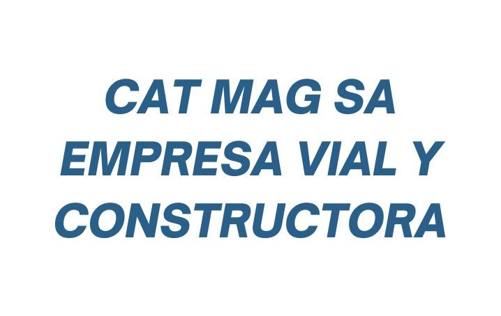 CAT SA Empresa Vial y Constructora
