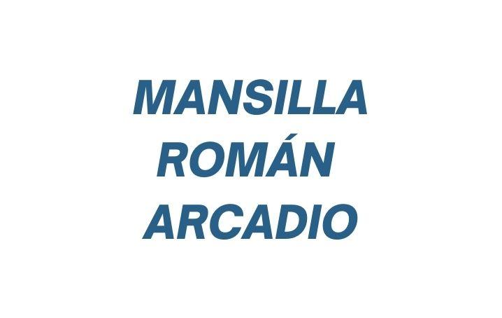 Mansilla Román Luis Arcadio